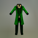 Green Leprechaun Mesh Suit