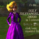G&D THE UGLY TELEVANGELIST DRESS