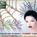 Bliensen + MaiTai: Cobweb Hair Accessories