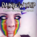G&D Rainbow Drip Makeup Set box