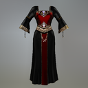 Gothic Queen Fitmesh Medieval Dress